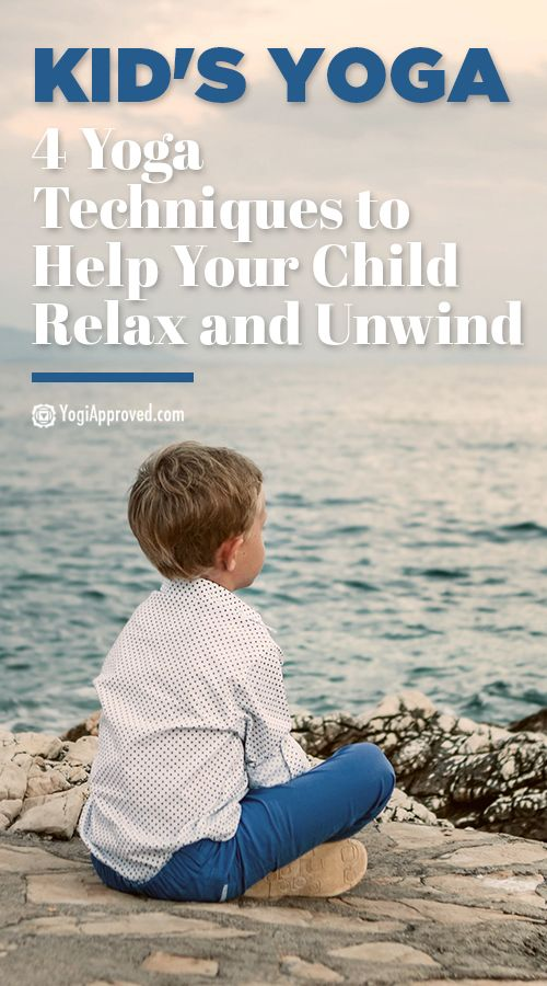how to teach your child yoga