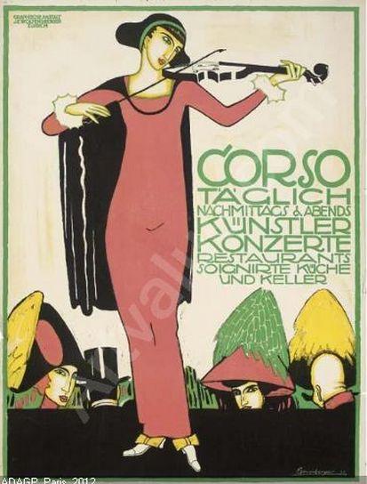 otto baumberger 1889 1961 swiss 1911 fashion women hats switzerland