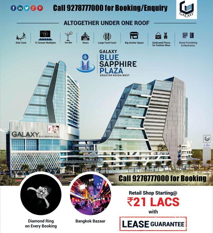 http://www.galaxybluesapphireplazaa.in/ Galaxy Blue Sapphire Plaza Noida Extension
