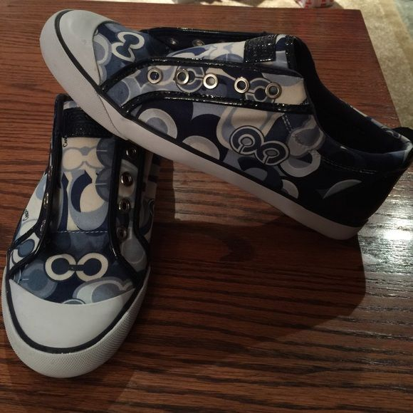 """NWOB, COACH SNEAKER """"BARRETT"""" Awesome pair of COACH SNEAKERS. These are Brand New. No Box or laces. Coach Shoes Sneakers"""