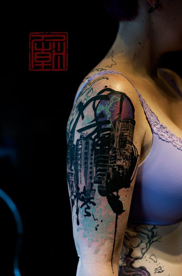 89 best trash polka images on pinterest for Hong kong tattoo