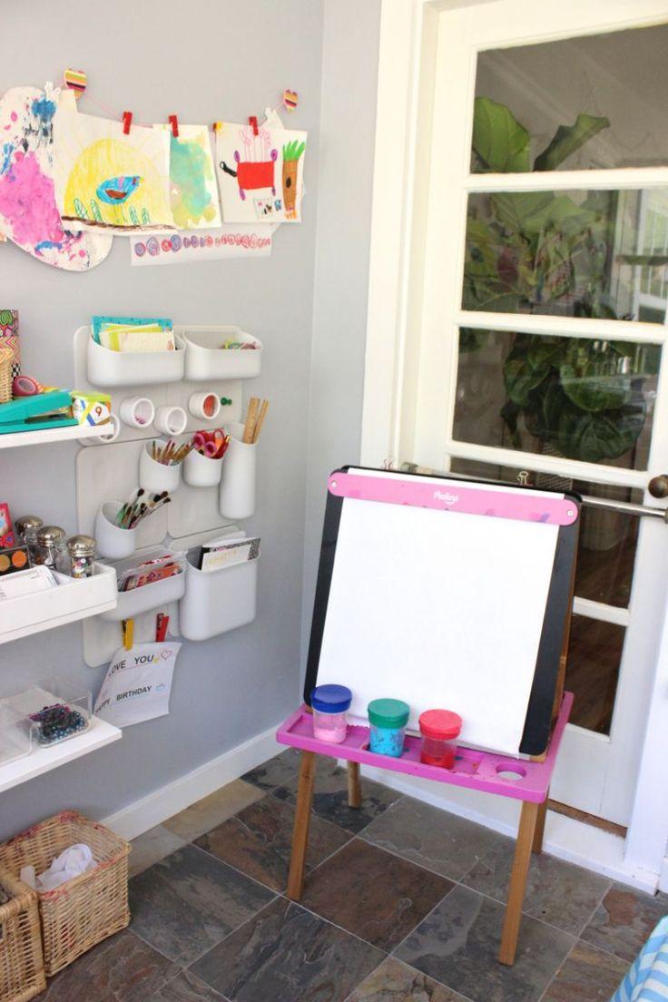9 idee per realizzare spazi artistici per bambini in casa L'abbiamo detto, il disegno e l'arte sono fondamentali per la crescita del bambino....