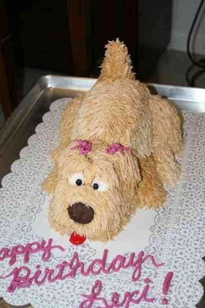272 Best Images About Dog Cakes And On Pinterest