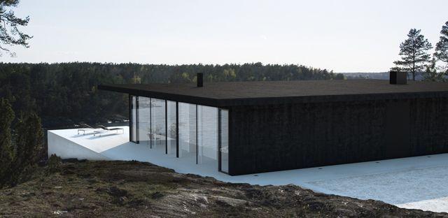Modern house on Pinterest | Villas, Robert Ri'chard and Minimalist ...