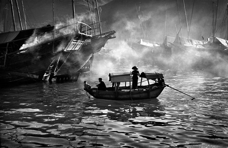 Fan Ho, Evening ferry, 1958, from series Living Theater