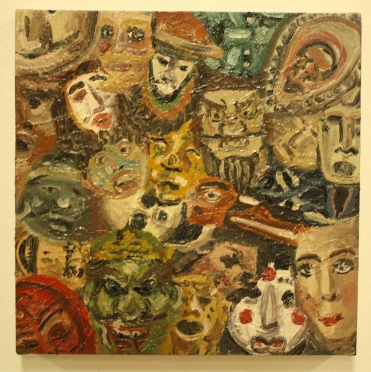 """Palette 04"" 2013, oil on canvas"