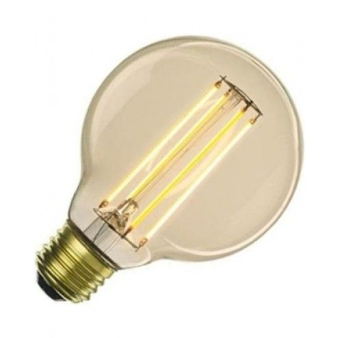 LED vintage style Edison bulb. It last for 15,000 hours, 5x longer than it's incandescent twin!