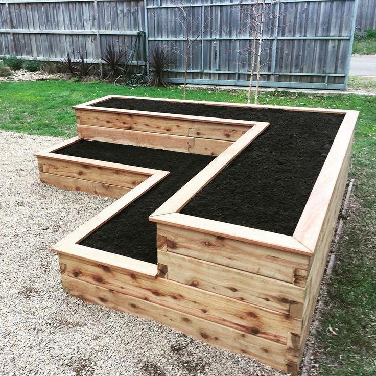 25 best ideas about tiered garden on pinterest for Vegetable garden box designs