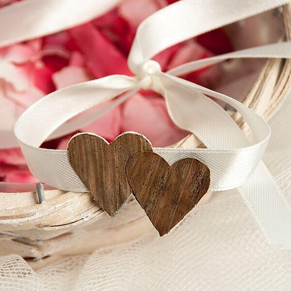 Blumenkinder Armband Doppeltes Herz 35cm Aus Weissem Satinband Anstecker Hochzeit Zitate Hochzeit Gedichte Zur Hochzeit