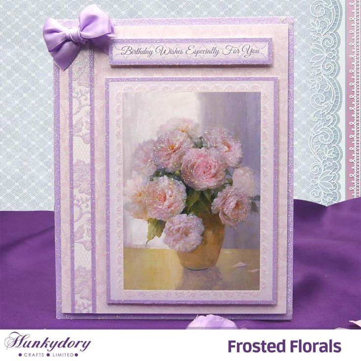 Frosted Florals | Hunkydory Crafts
