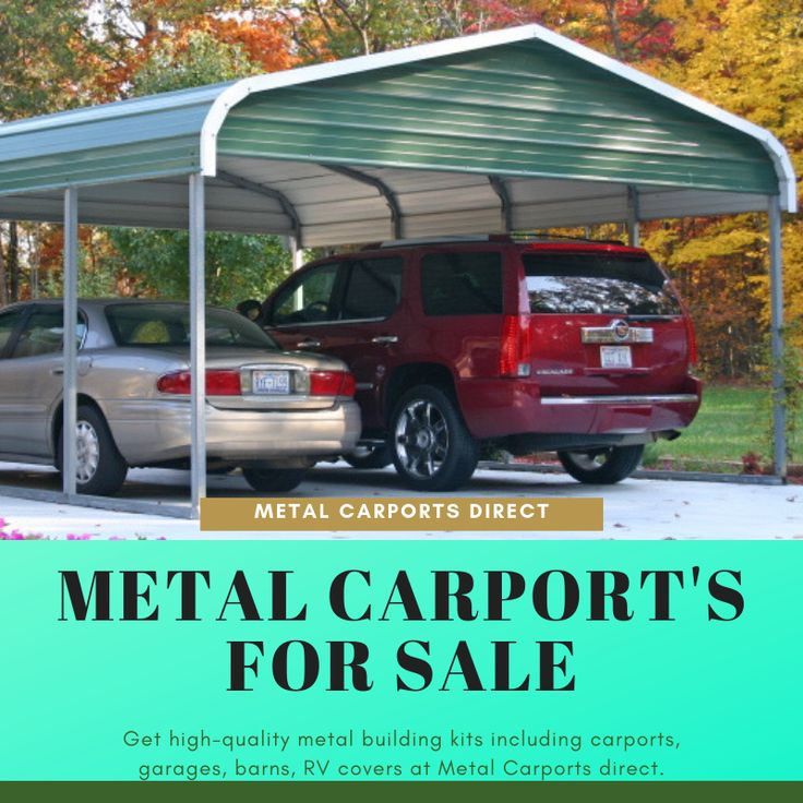 Metal carports, utility carports, RV shelters, garages