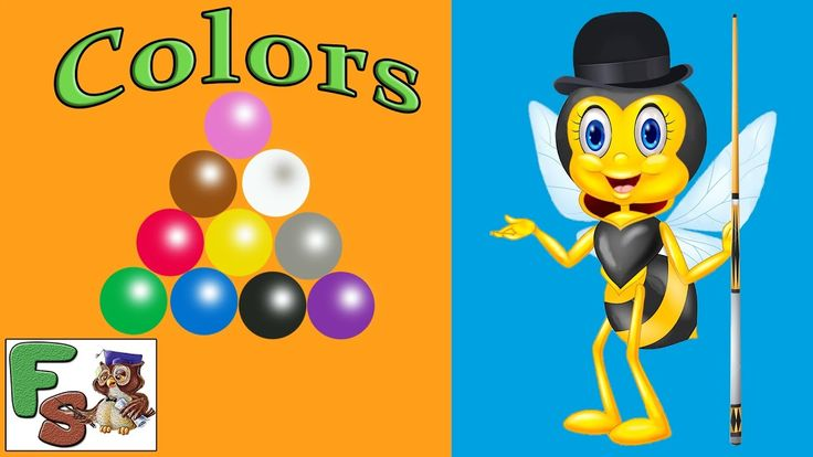 Colors for Children/ Learn Colors With Snooker/  Colors/ Snooker Game fo...