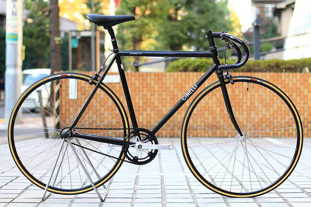 Just nice, simple clean - *CINELLI* gazzetta complete bike by Blue Lug