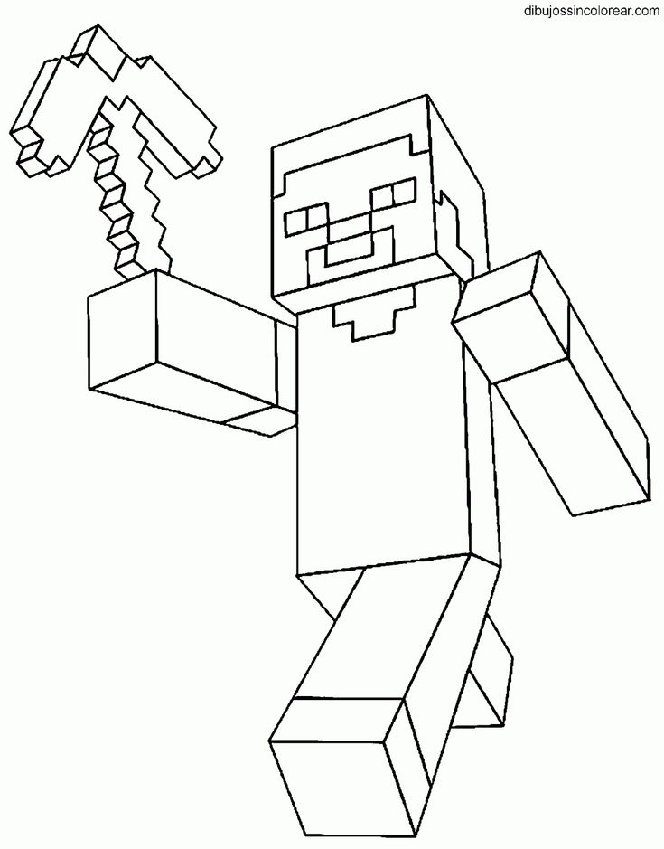 Ms de 25 ideas increbles sobre dibujos de Minecraft en Pinterest