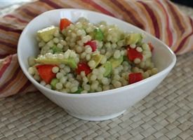 Avocado And Red Pepper Israeli Couscous Recipes — Dishmaps