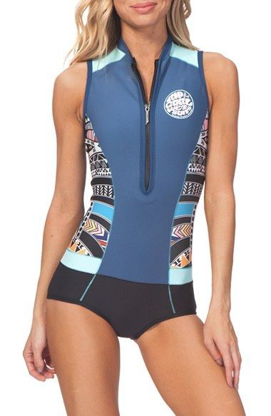 Rip Curl 'GBomb' Sleeveless Wetsuit available at #Nordstrom