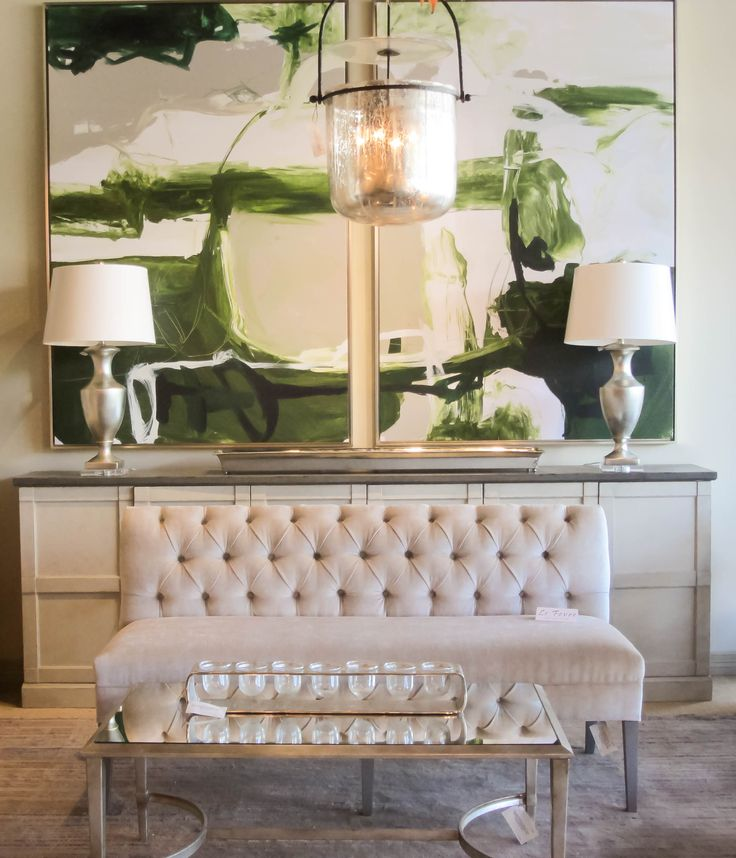 Good Beautiful Settee And Large Green Paintings In Design House, Houstonu0027s  Premier Luxury Furniture And Accessories