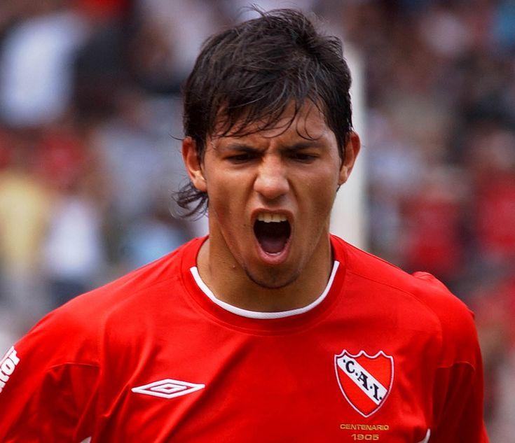 "Sergio ""Kun"" Aguero 2003 - 2006 Partidos Jugados: 51 Goles: 23"