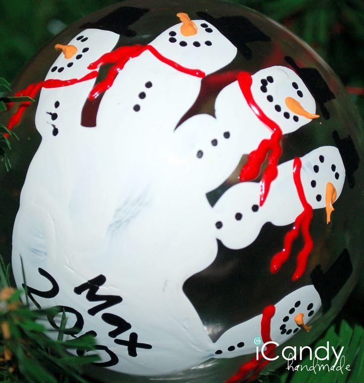 icandy handmade: (iCandy) Handful of Handmade Christmas Ornaments
