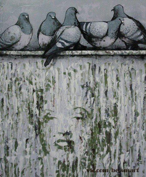 Французский художник Dran использует черный юмор, чтобы раскритиковать современную культуру и образ жизни.