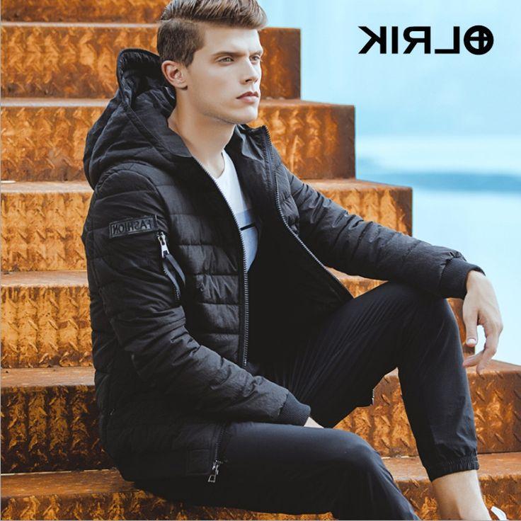 38.25$  Watch now - https://alitems.com/g/1e8d114494b01f4c715516525dc3e8/?i=5&ulp=https%3A%2F%2Fwww.aliexpress.com%2Fitem%2FOLRIK-2016-Winter-Jackets-Coats-Parkas-Men-s-Clothing-Winter-Overcoats-M-4XL-Size-Short-Regular%2F32754726854.html - OLRIK 2016 Winter Jackets Coats Parkas Men's Clothing Winter Overcoats M-4XL Size Short Regular Brand New Men Cotton Down Coat  38.25$