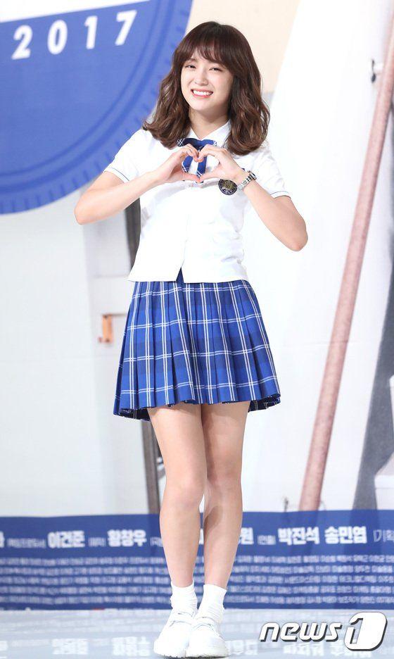 [PICS] 170711 Sejeong at KBS 'School 2017' press conference. (2)  #아이오아이 #IOI #김세정 #Sejeong