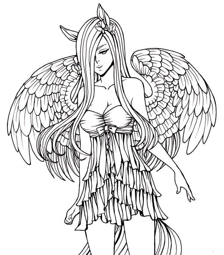 gothic art coloring pages - photo#14