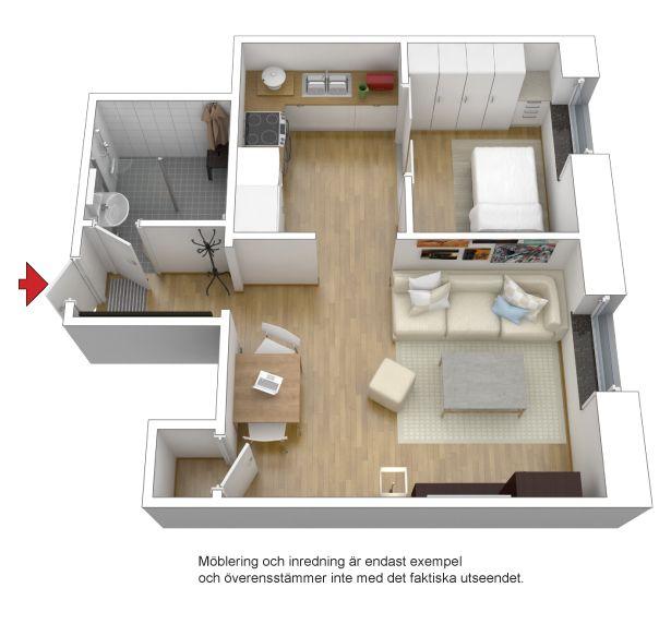 plano apartamento pequeo
