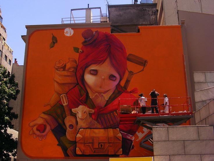 Inti Castro - Estación Bellas Artes Santiago Chile
