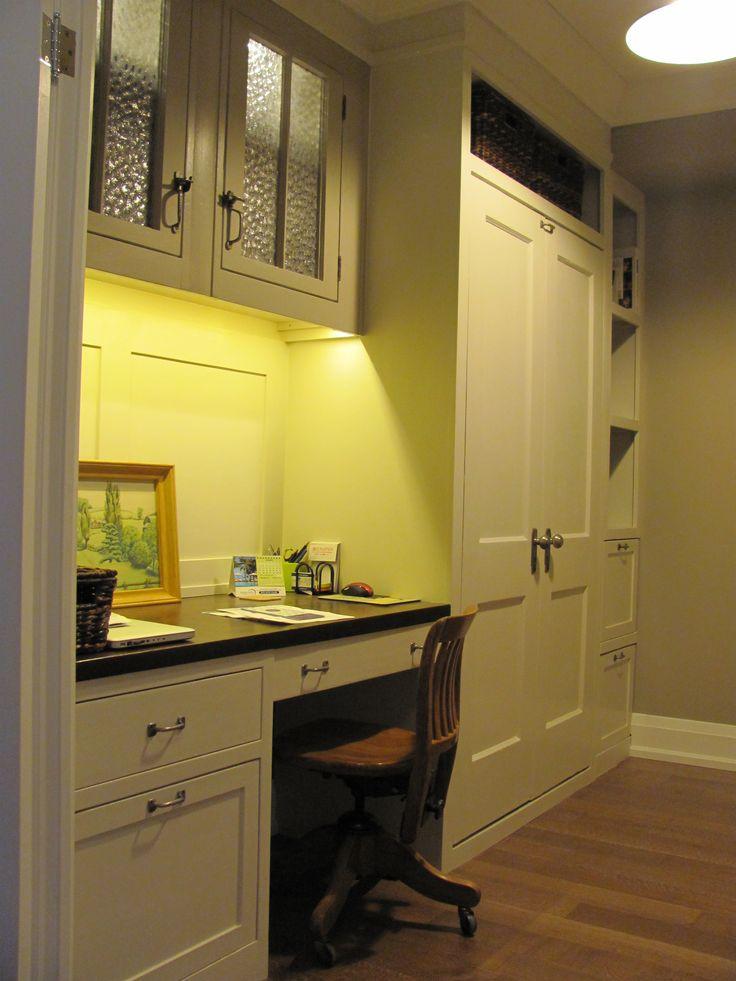 Custom Designed/Built--Desk-Cabinets & Murphy Bed