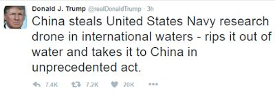 Donald Trump Accuses China of Stealing From US