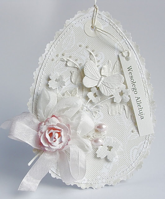 Dorota_mk  - Wow, gorgeous Easter egg card!