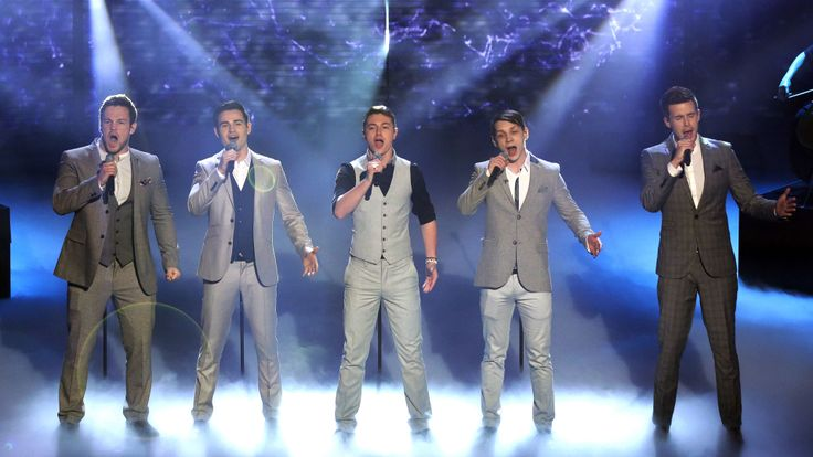 Collabro are singing Stars