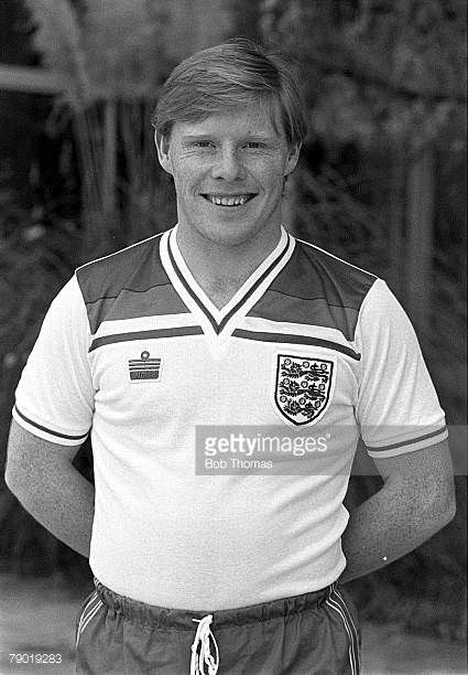 Football Official FA Portraits 16th November 1982 Liverpool and England's Sammy Lee