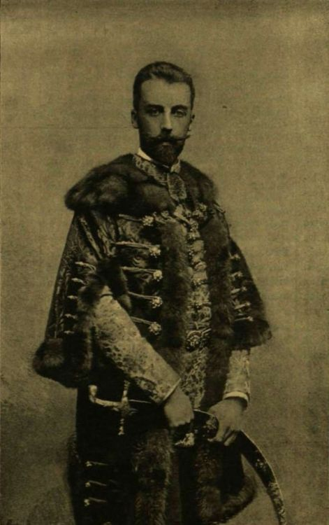 Grof Batthyany Lajos (1860-1951) Governor of Fiume. His mother countess Emma Batthyany was the daughter of Hungary's first Prime Minister Lajos Batthyany von Nemetujvar.