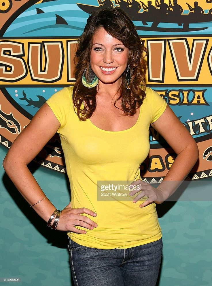 Survivor contestant Amanda Kimmel attends the Survivor: Micronesia Finale and Reunion Show at the Ed Sullivan Theater on May 11, 2008 in New York City.