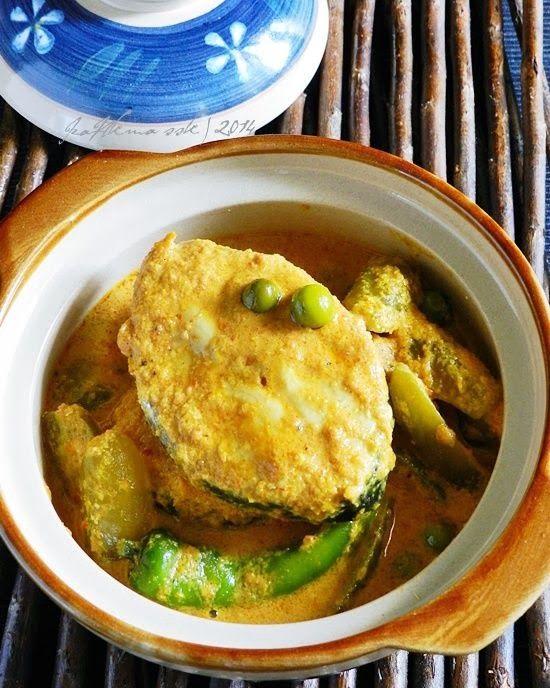 GULAI SIAM IKAN TENGGIRI   Singgahsana Kitchen ~ menumis/saute style mmm