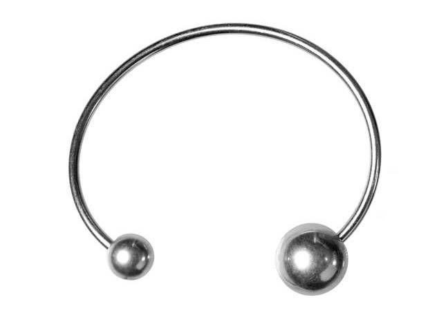 Zilveren, verstelbare armband met bollen van Hultquist Copenhagen - www.legoutdescouleurs.be