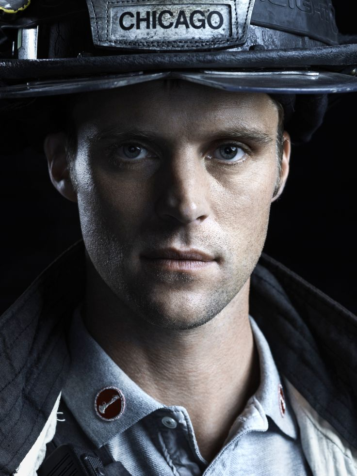 Up close and personal with Lt. Casey. #ChicagoFire