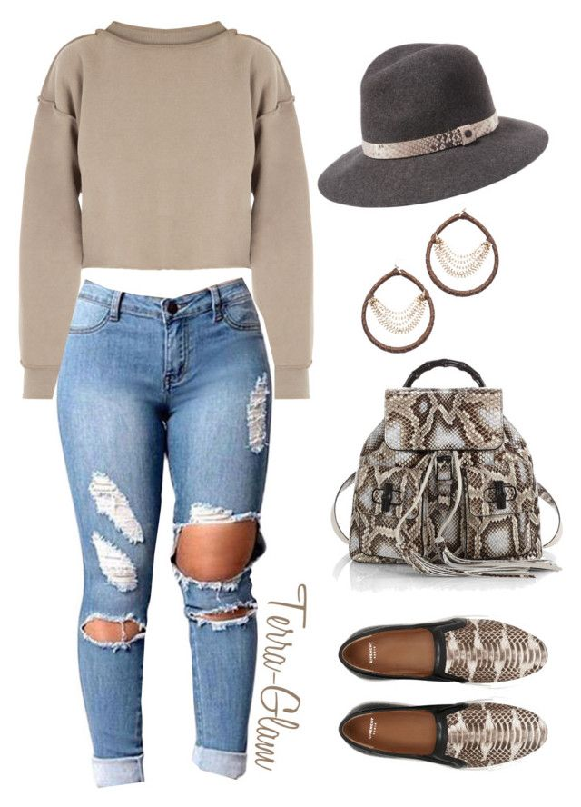 """Python Love"" by terra-glam ❤ liked on Polyvore featuring Givenchy, Gucci, rag & bone, Skinny by Jessica Elliot and My Mum Made It"