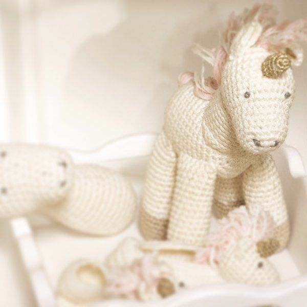 Magical unicorn toys and booties at KydLoves