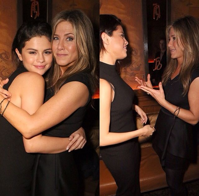 Selena Gomez and Jennifer Aninston 2014