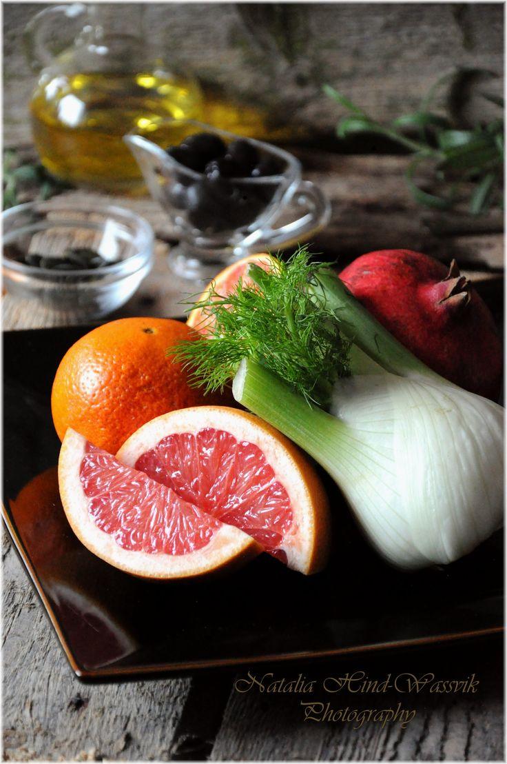 Ingredients for Vegetarian Salad