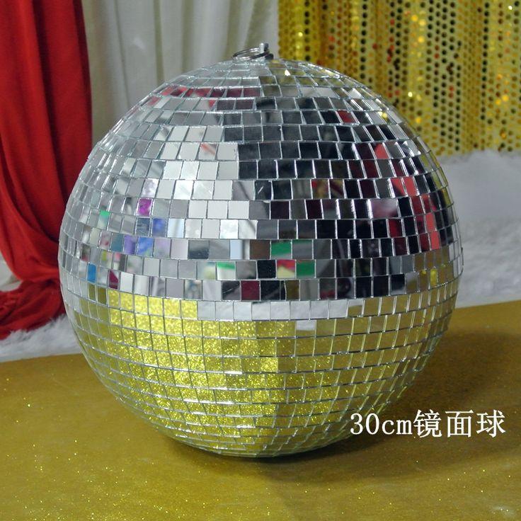 Свадьба этап стеклянный шар 30см зеркальный шар, отражение света зеркальный шар фары KTV для бара реквизит - Taobao