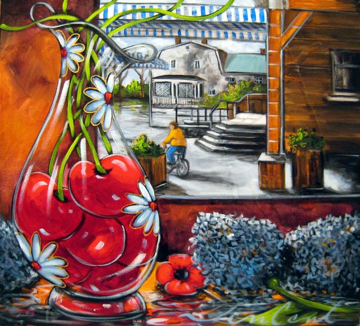 peintre daniel vincent - by artist Daniel Vincent: native of Montreal, Vincent began painting in 1985. His love of art led him to discover acrylic, self-taught.