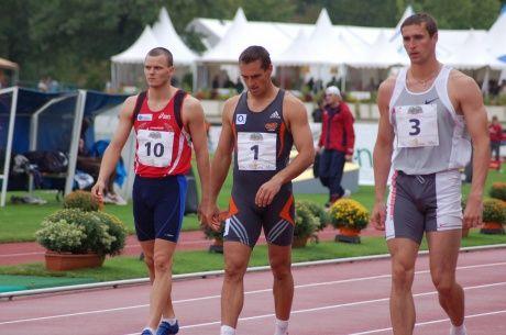 Madis Kallas, Roman Šebrle, Dmitri Karpov at Talence Decastar 2006. http://www.decathlon2000.com/eng/3008/