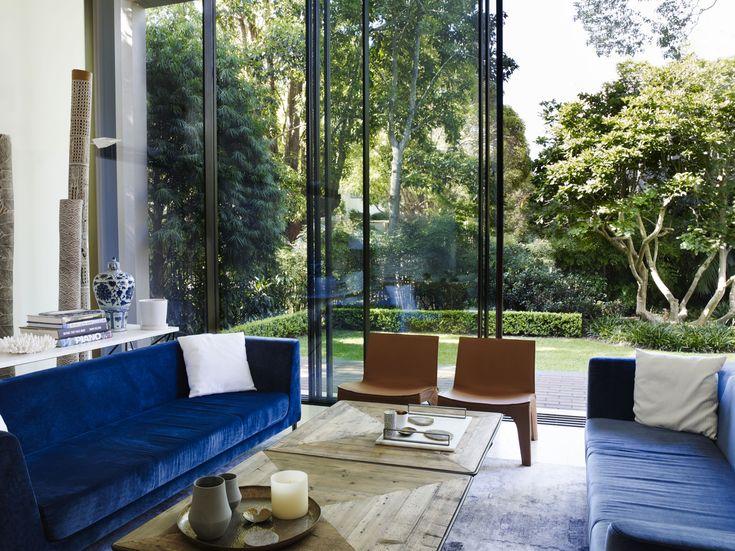 Lounge room garden outlook