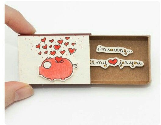 Love for You Miniature Matchbox Craft @ Rs. 149