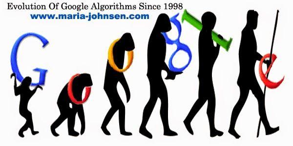 evolution of google algorithms since 1998