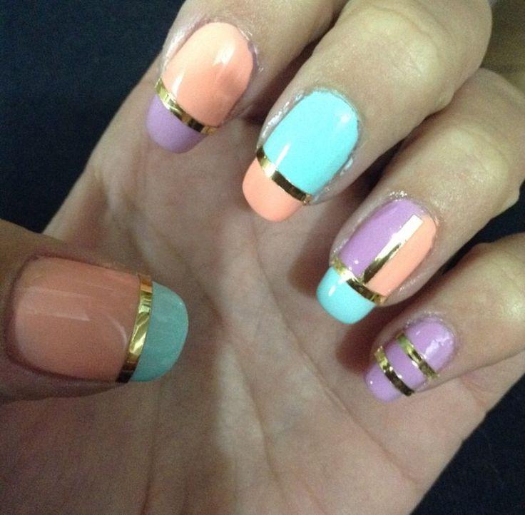 mis #uñas me encantaron #nailsart #pink #nailsoftheday #uñasdecoradas #nailsart  #nailscolor